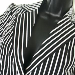 Forever 21 Women's Blk Blazer Jacket Short Sleeves